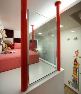 二室一厅现代风格儿童房装修效果图大全