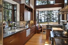 140万打造宜家简约风格厨房橱柜装修图片