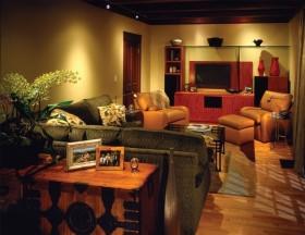 17万打造绝美中式风格复式客厅装修效果图大全