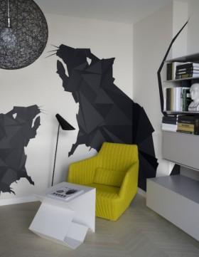 简约自然的复式楼书房装修效果图大全2012图片