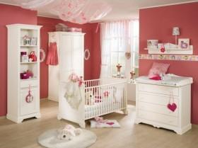 粉色公主儿童房效果图