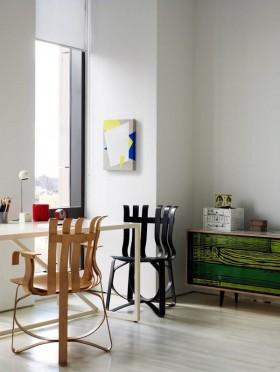 二室二厅简约自然的书房装修效果图大全2012图片