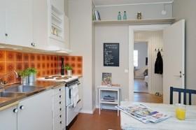 40平超小户型厨房装修效果图