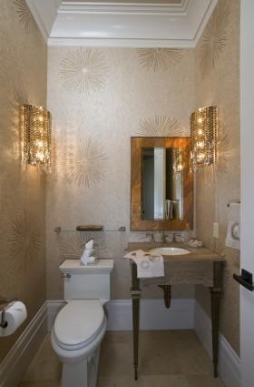 婚房卫生间洗手台