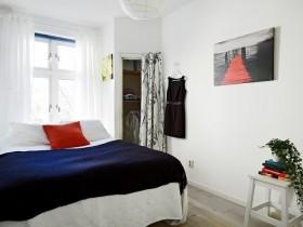 50平米小户型北欧风格卧室装修效果图大全