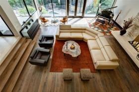 120万打造清新北欧风格客厅装修效果图大全