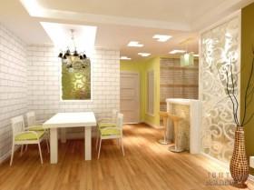 田园风格客厅装修效果图大全2012图片