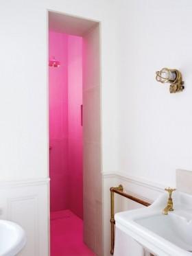 现代复式楼浪漫婚房 卫生间装修效果图