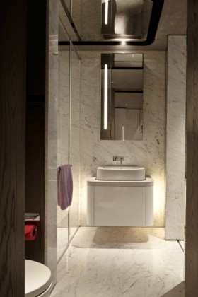 现代浪漫的90平米小户型卫生间装修效果图大全