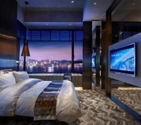 现代浪漫的90平米小户型卧室装修效果图大全