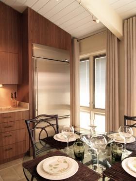 中式古韵的二居室餐厅装修效果图大全