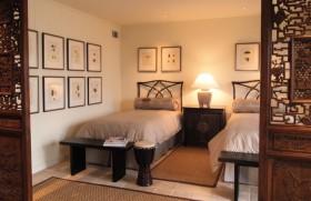 中式古韵的二居室小卧室隔断装修效果图大全