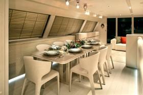 简欧风格三居室餐厅装修效果图大全