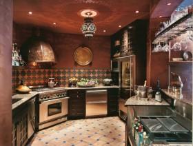 绝美的东南亚小户型厨房橱柜装修效果图大全