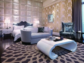 奢华浪漫的别墅卧室装修效果图大全