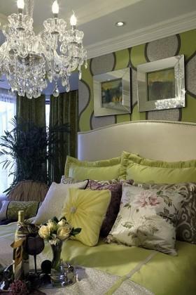 60平米纽约时尚映像卧室装修效果图大全