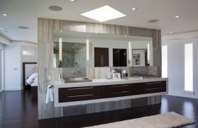 奢华的后现代装修风格卫生间洗手台图片