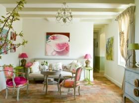 田园风格小户型客厅装修效果图大全