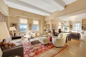 130平米三室二厅地中海风格客厅装修效果图大全