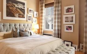 130平米三室二厅地中海风格卧室装修效果图大全