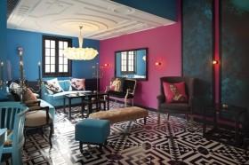 浪漫的享受地中海风格电视背景墙装修效果图大全