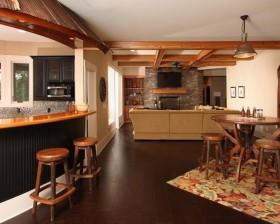 小三居欧式风情餐厅吧台装修效果图大全