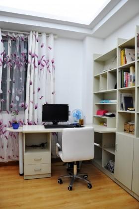 90平米小户型浪漫的现代风格书房装修效果图