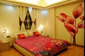 90平米小户型浪漫的现代风格卧室装修效果图大全