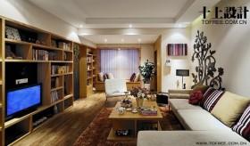 二居客厅电视柜装修效果图大全2013图片