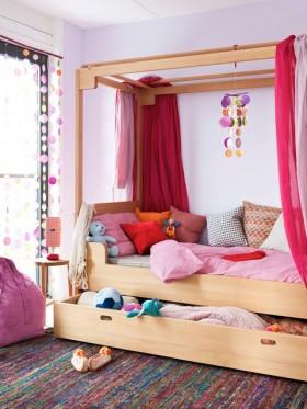 89平米小户型地中海风格可爱的儿童房装修效果图