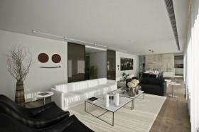 15万打造浪漫简约风格复式客厅装修效果图大全
