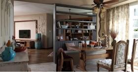 二居室家庭书房装修效果图