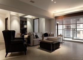 120平米三房两厅客厅装修效果图