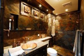古典欧式风格卫生间瓷砖装修效果图大全