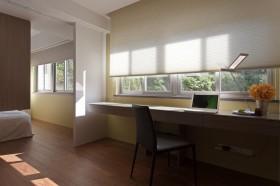 两室两厅最新书房装修效果图大全