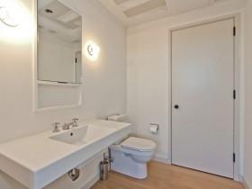 纽约现代时尚的卫生间装修效果图大全2012图片