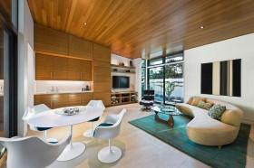 流行现代风格别墅客厅装修效果图大全