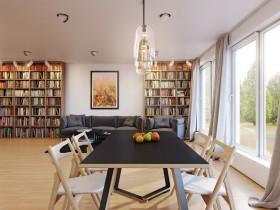 90平米小户型家庭餐厅飘窗装修效果图大全