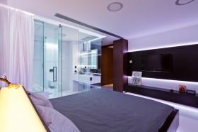 低调奢华的现代风格四居室卧室装修效果图大全