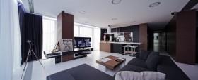 低调奢华的现代风格四居室客厅装修效果图大全
