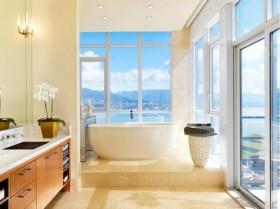 三室两厅海边卫生间浴缸装修效果图大全