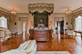 奢华的美式四居室客厅装修效果图大全