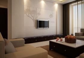 简约电视背景墙装修效果图大全欣赏