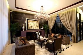 奢华到极致的后现代装修风格客厅图片