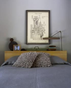 30平欧式风格卧室装修效果图