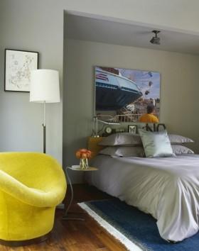 160平欧式风格卧室装修效果图大全
