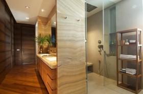 两室一厅美式风格卫生间装修效果图大全