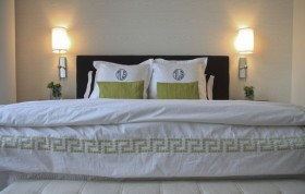 经济适用房二室一厅卧室装修效果图