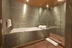 文艺青年老房改造创意小户型卫生间瓷砖装修效果图大全