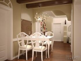 浪漫婚房地中海室内餐厅装修效果图大全2012图片